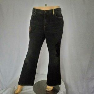 LAUREN JEANS Black Jean Pants Embellished Sz 14P
